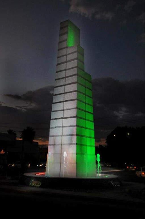 Fuente de los tres bulevares en Hermosillo