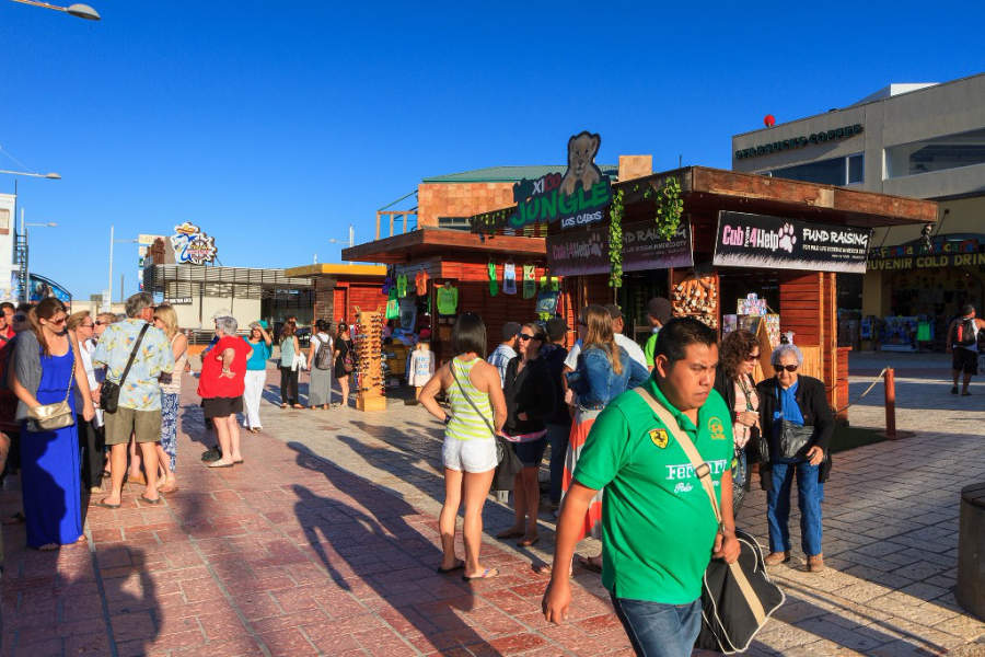 <p>Shops in the area of Marina Cabo San Lucas</p>