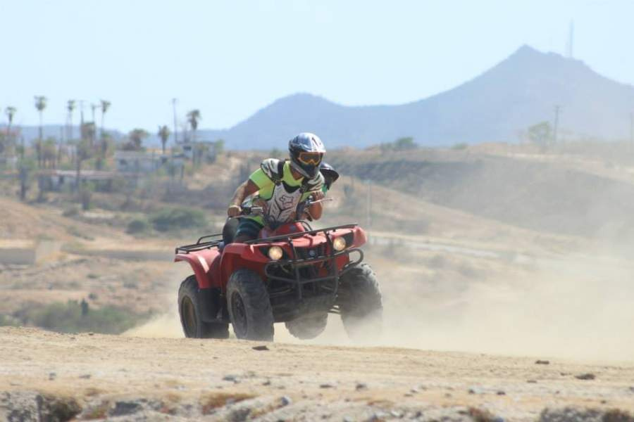 <p>ATV at Wild Canyon Park in Los Cabos Tourist Corridor</p>