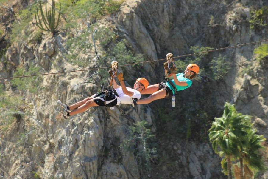 <p>Wild Canyon Park in Los Cabos Tourist Corridor offers zip-lines</p>