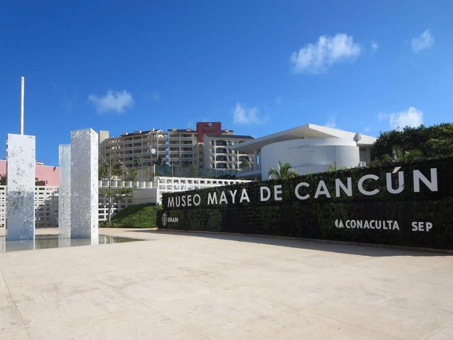 <p>Museo Maya de Cancún en la zona hotelera</p>