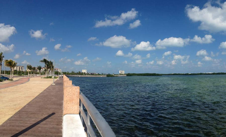 <p>Malecón Tajamar en Cancún</p>