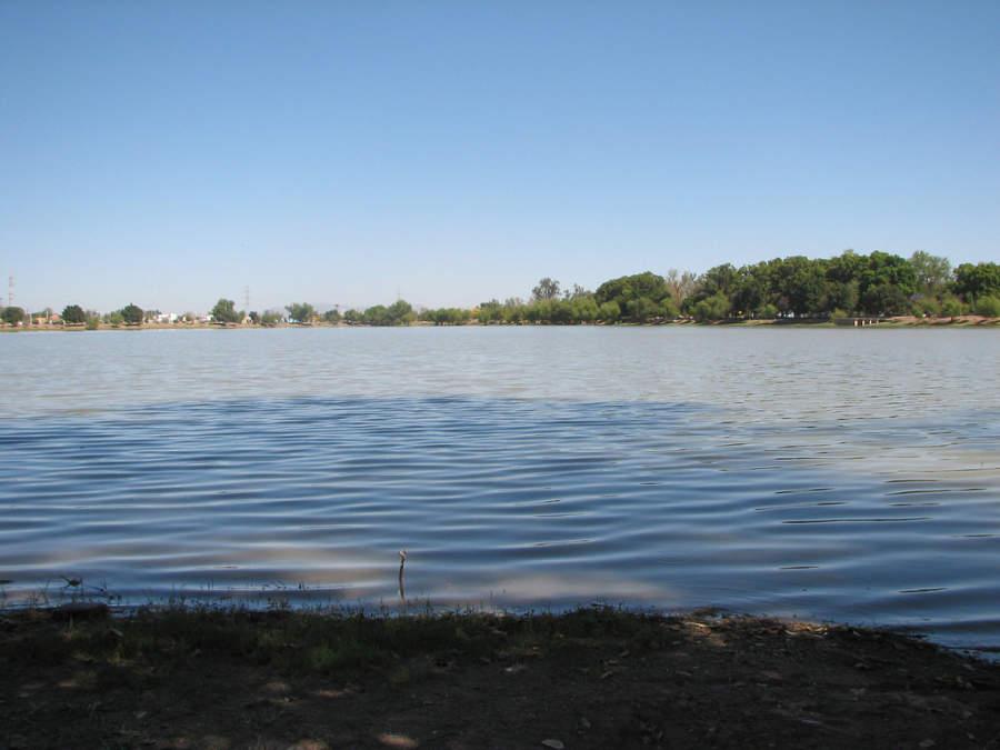 Laguna del Náinari conocida como la novia de Ciudad Obregón