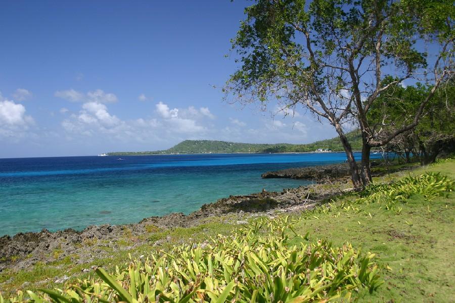 Vista a las playas de San Andrés