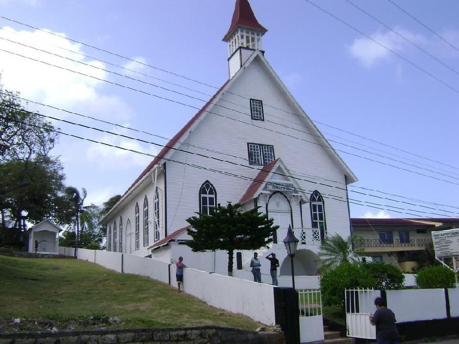 Iglesia bautista en San Andrés