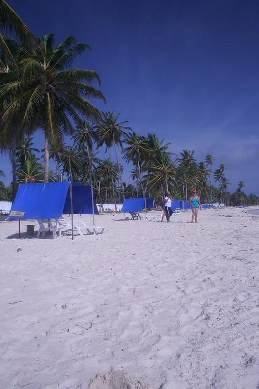Arena blanca de las playas de San Andrés