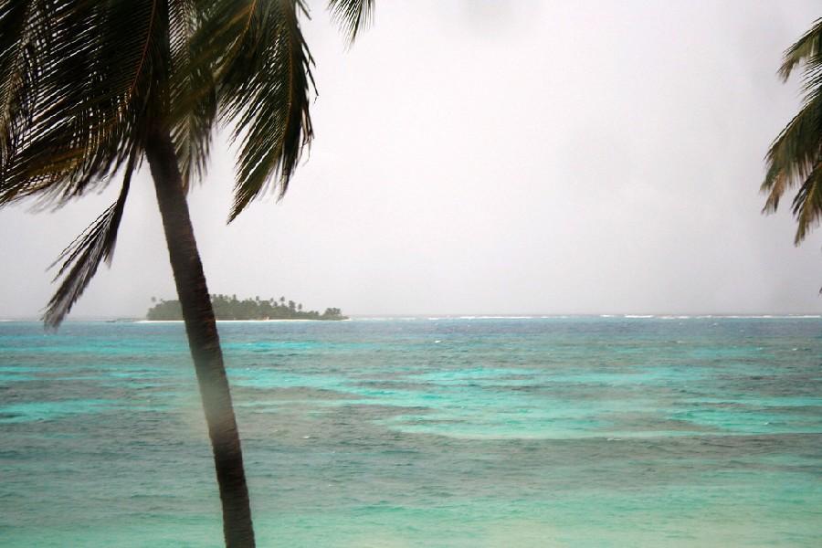 Mar turquesa de San Andrés