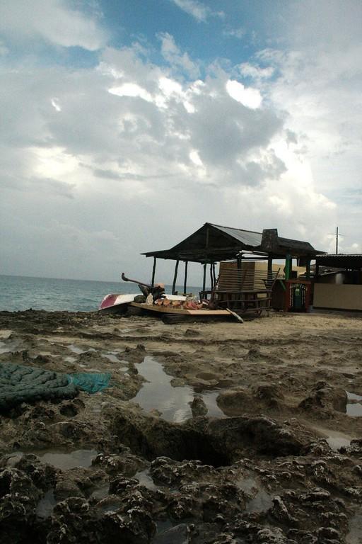 Casa a un lado de la playa en San Andrés