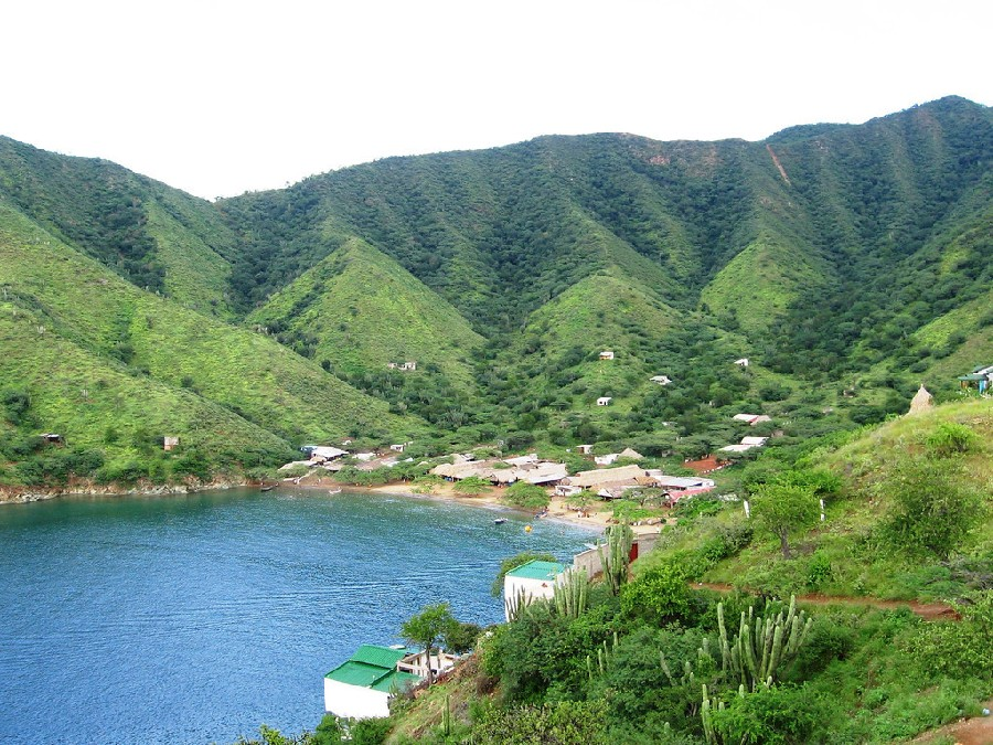 Playa Grande, Taganga