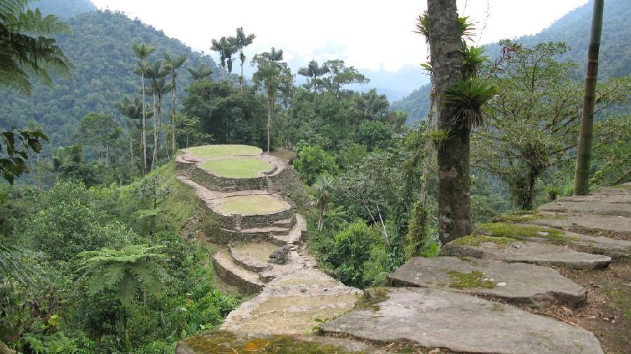 Ciudad Perdida, a 34 km de Santa Marta