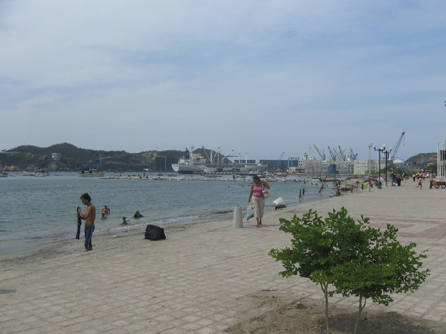Muelle de Santa Marta