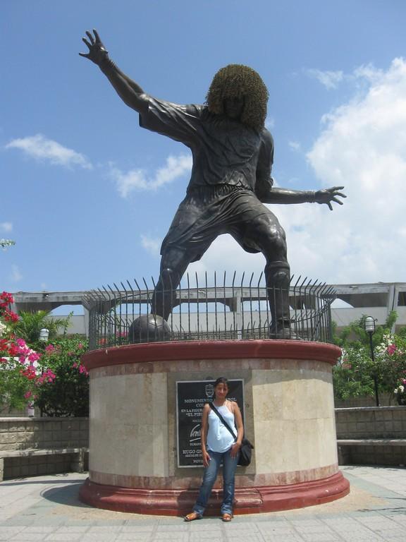 Estatua del Pibe Valderrama