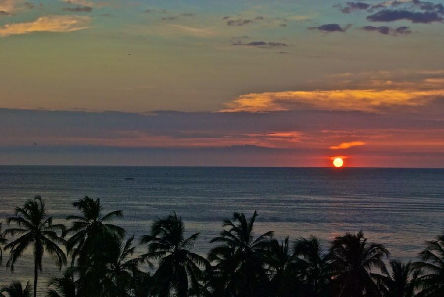 Puesta del sol en Taganga