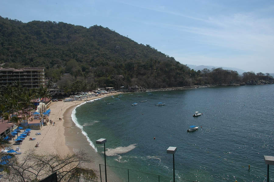 <p>Mismaloya Beach in Puerto Vallarta</p>