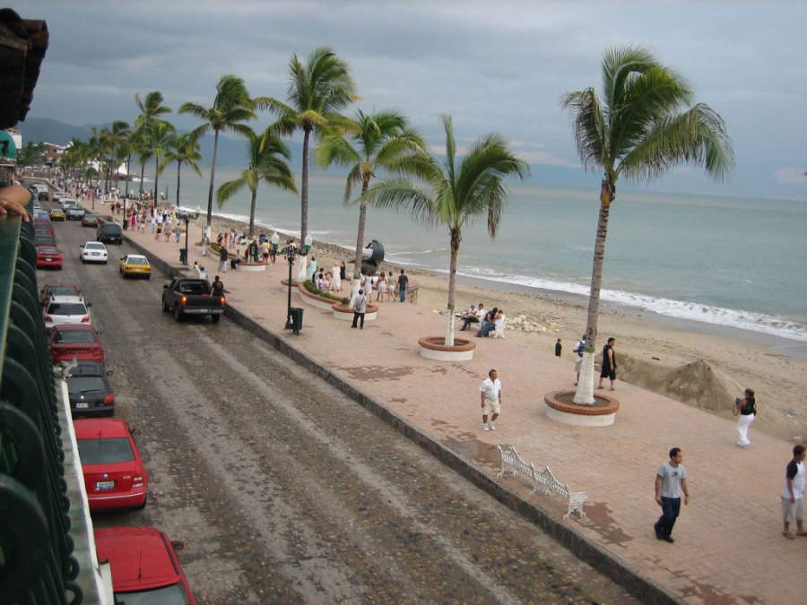 <p>View from Puerto Vallarta Boardwalk</p>