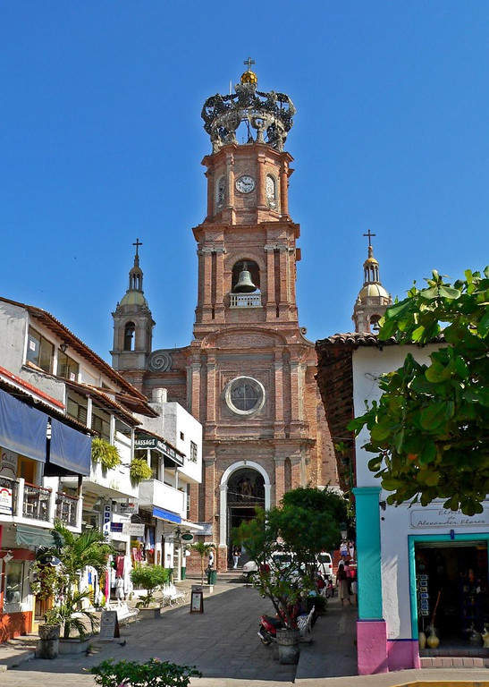 <p>Church of Our Lady of Guadalupe in Puerto Vallarta</p>