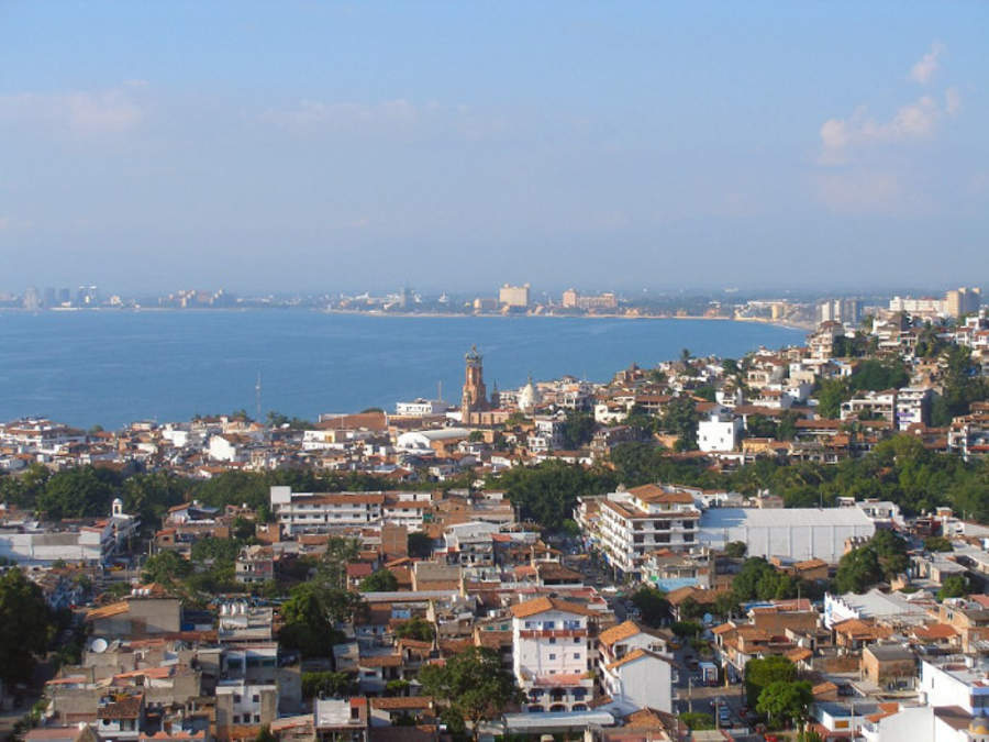 <p>Old town of Puerto Vallarta</p>