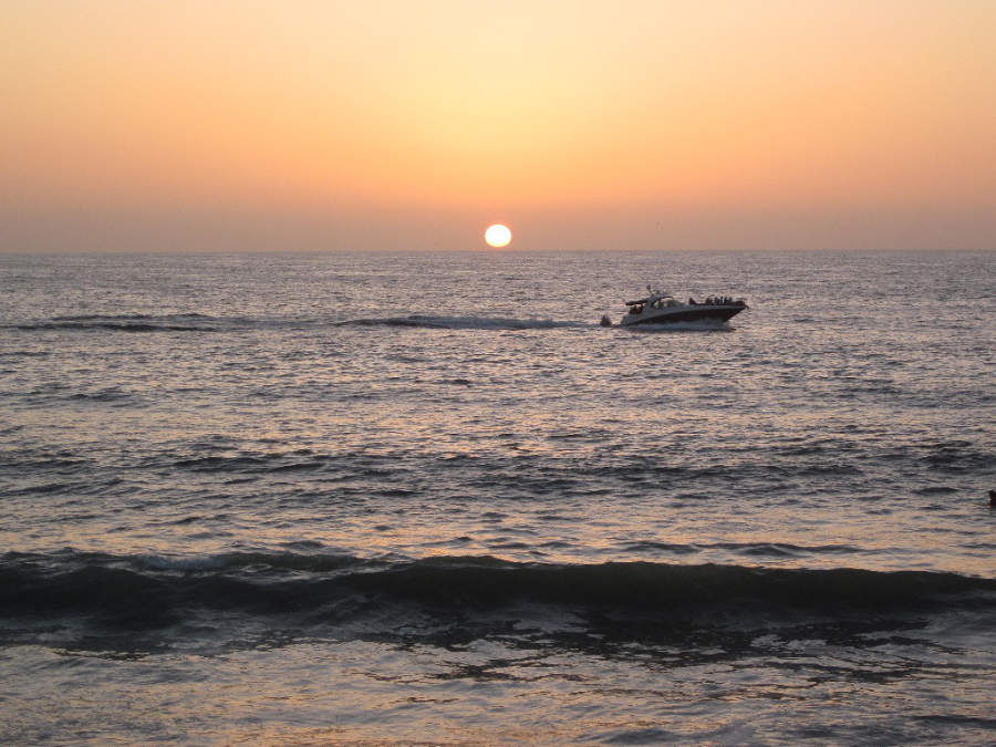 <p>Sunset in Puerto Vallarta</p>