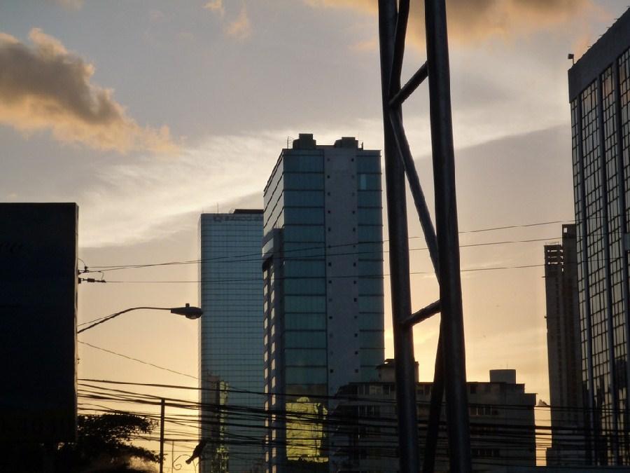 Rascacielos en calle 50, ciudad de Panamá