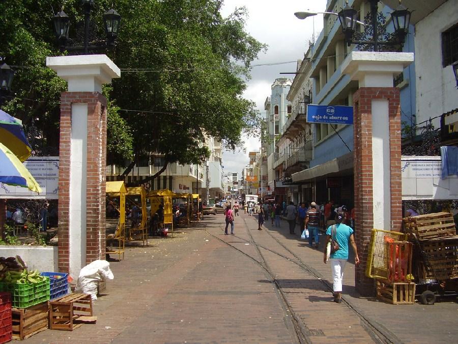 Avenida central de la ciudad de Panamá