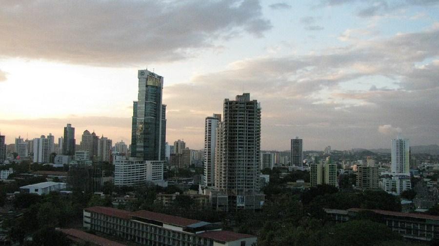 Vista panorámica del centro de la ciudad
