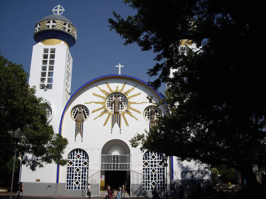 <p>Cathedral of Our Lady of Solitude in Acapulco</p>