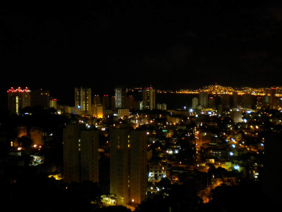 <p>Acapulco by night, the city that never sleeps</p>