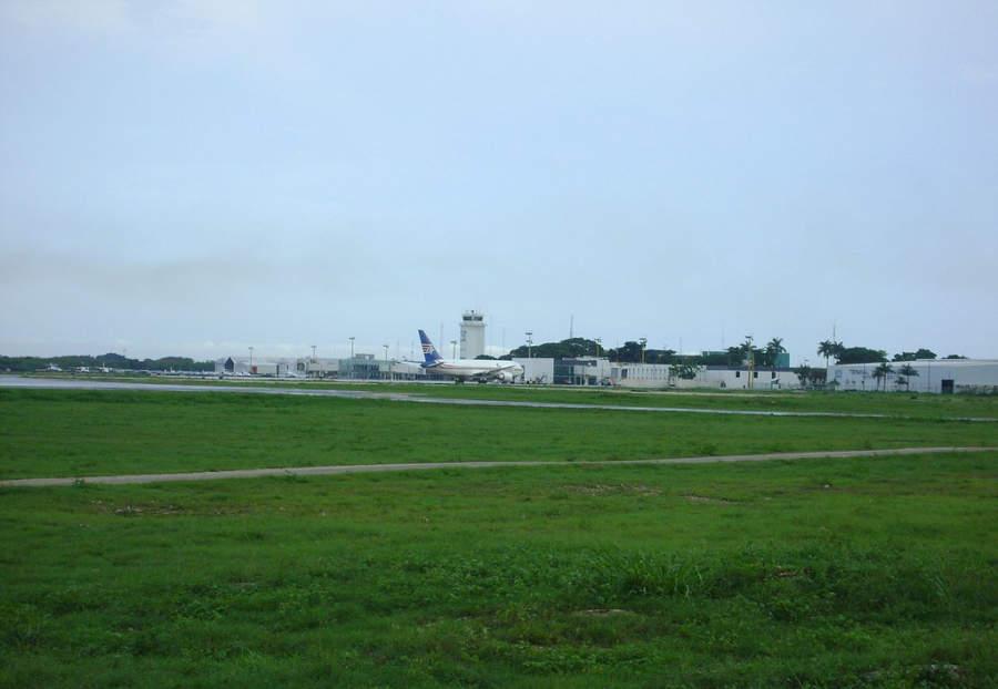 <p>Manuel Crescencio Rejón International Airport in the city of Merida</p>