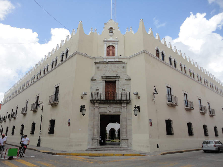 <p>Building of the UADY, Autonomous University of Yucatan</p>