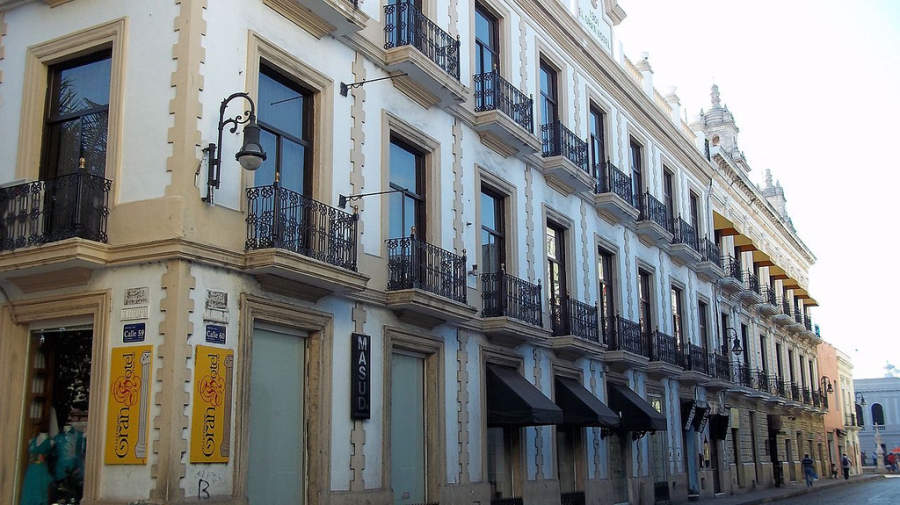 <p>A street of the historic center of Merida</p>