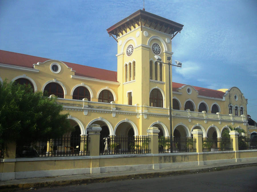 <p>Old train station of the city of Merida</p>