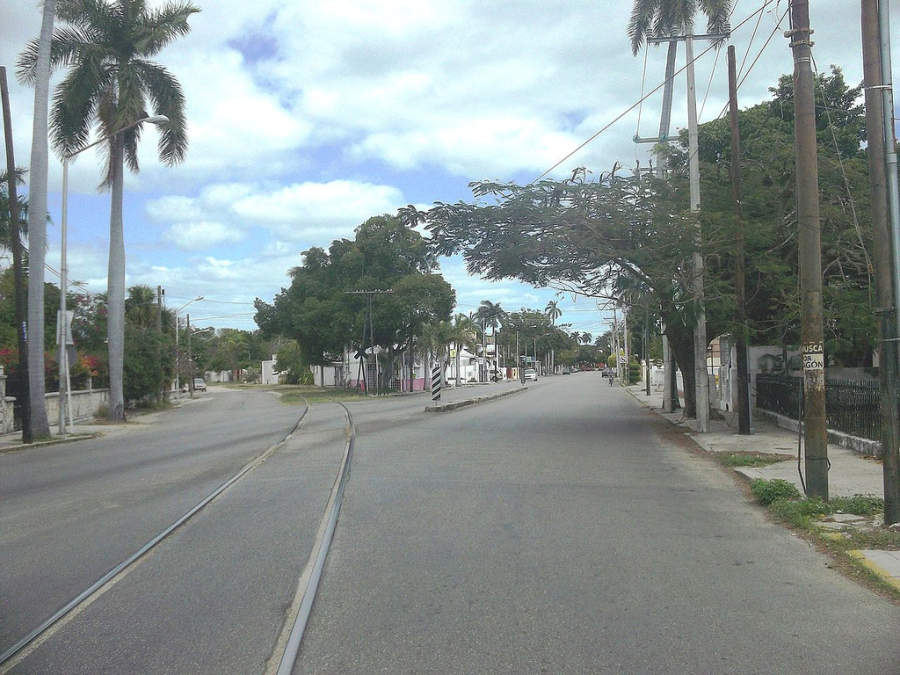 <p>Rotary Internacional Avenue in the city of Merida</p>