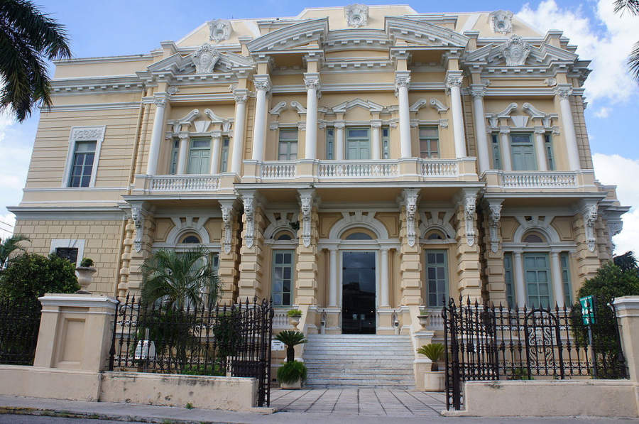 <p>Canton Palace is the currentMuseum of Anthropology</p>