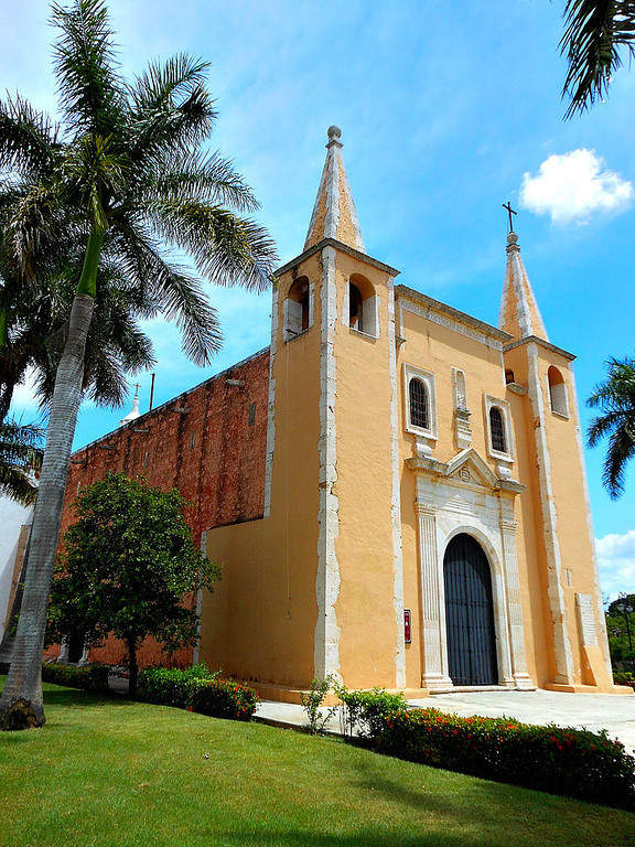 <p>The Church of Santa Ana, in Merida, was built in 1733</p>