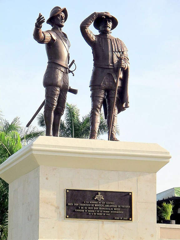 <p>The Monument to Montejo is located on Paseo Montejo</p>