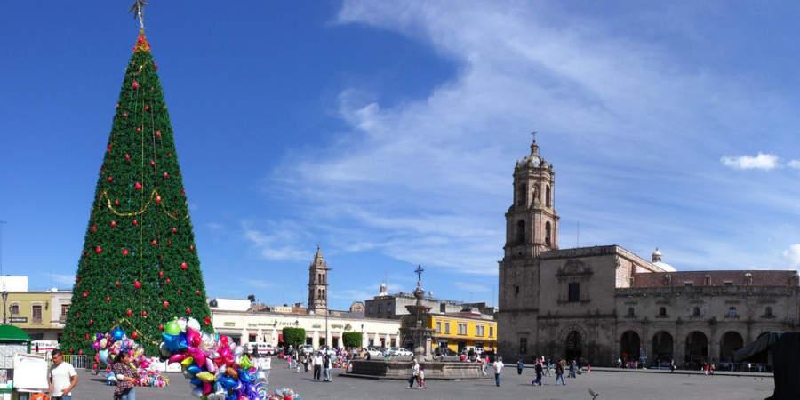 <p>Plaza Valladolid in Morelia</p>