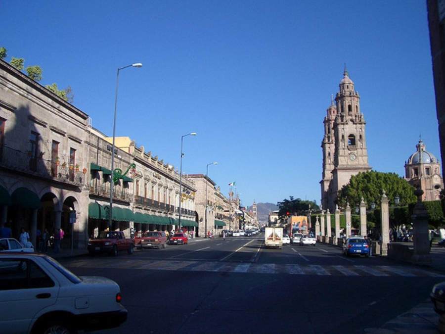 <p>Historic center of Morelia, Cultural Heritage</p>