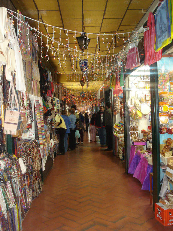 <p>Candy and Crafts Market in Morelia</p>