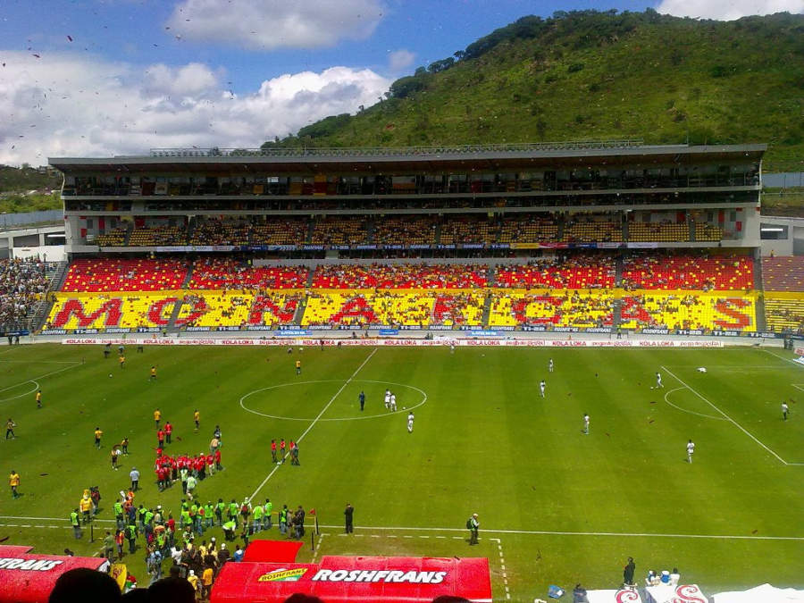 <p>Morelos Stadium</p>