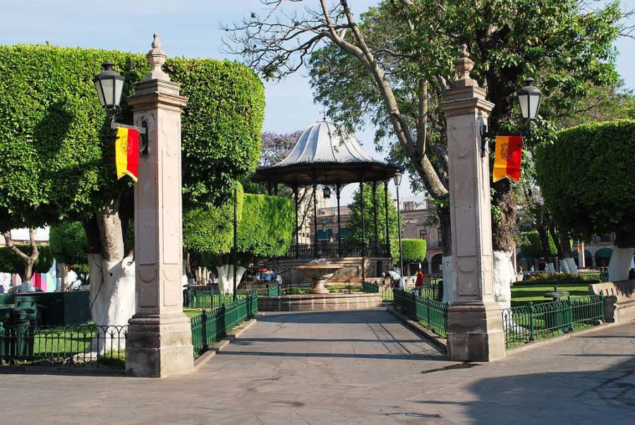 <p>Plaza de Armas of Morelia</p>