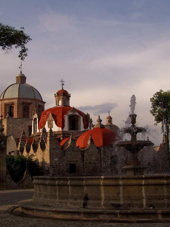 <p>Former convent of El Carmen in Morelia</p>