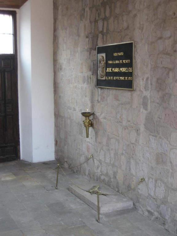<p>Birthplace of Jose Marea Morelos</p>