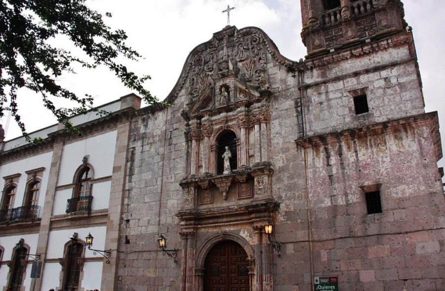 <p>Former convent of Las Monjas Capuchinas</p>