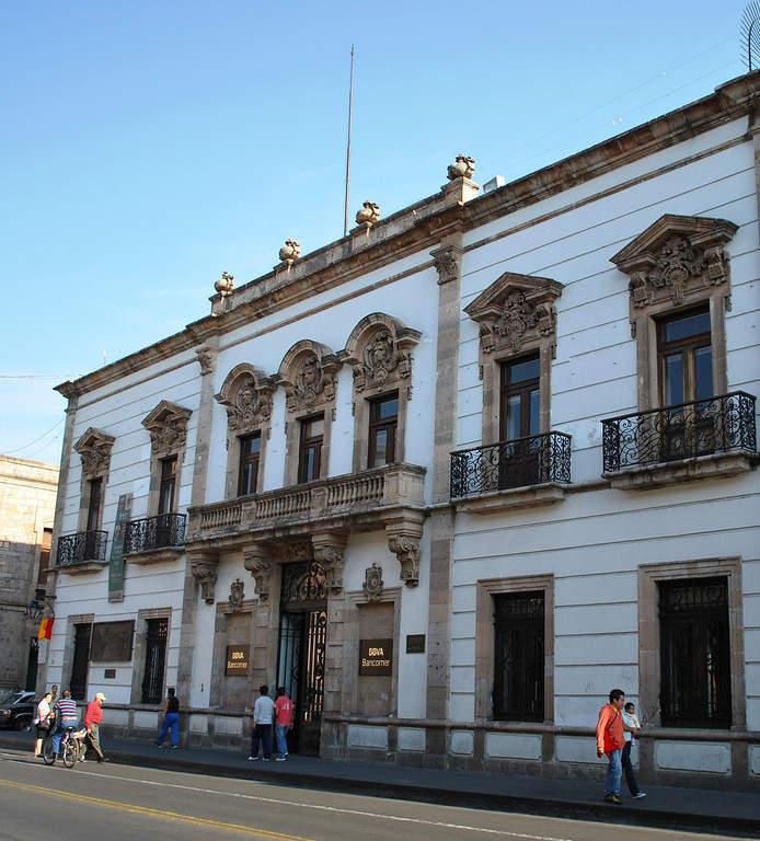 <p>Casa de la Conspiracion in Morelia</p>