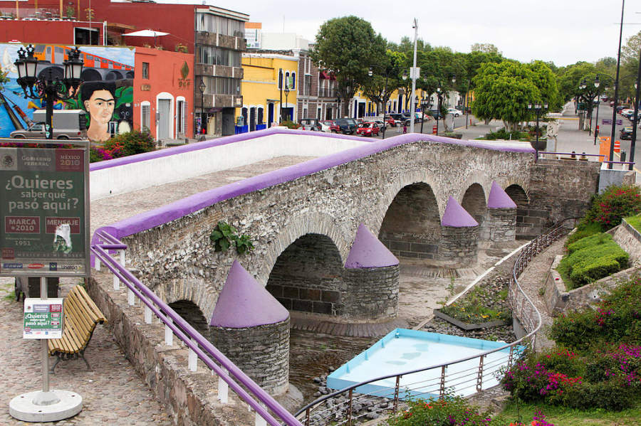<p>Ovando Bridge in the Analco neighborhood of Puebla</p>