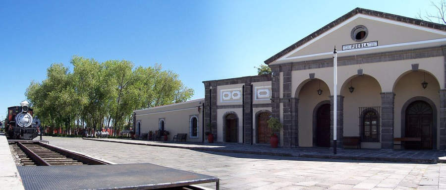 <p>National Railway<strong> </strong>Museum in Puebla de Zaragoza</p>