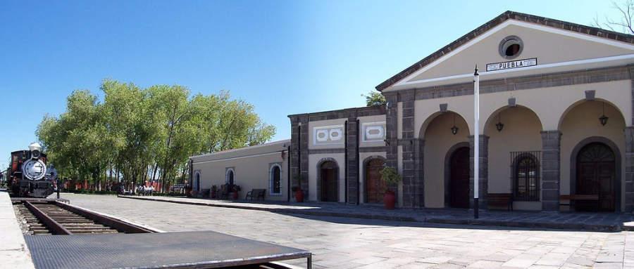 <p>National Railway<strong></strong>Museum in Puebla de Zaragoza</p>
