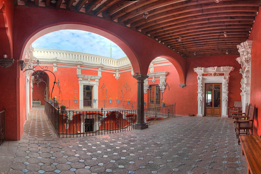 <p>The Casa del Alfeñique Regional Museum opened in 1926</p>
