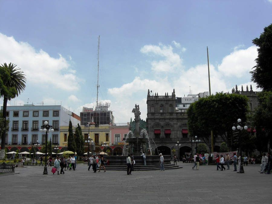<p>The historic center of Puebla was declared World Heritage by UNESCO</p>
