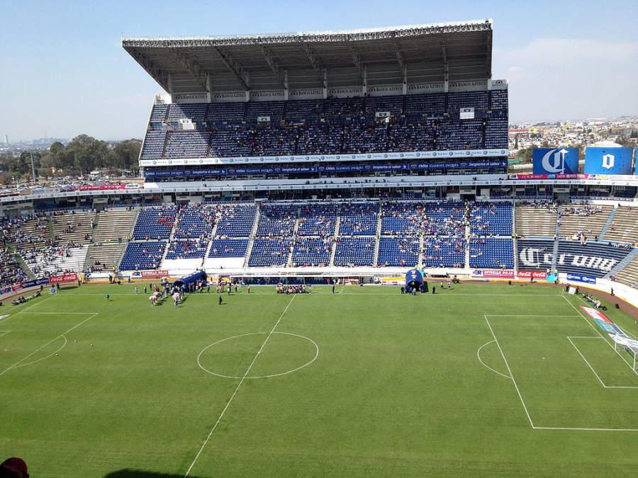 <p>Inside view of the Cuauhtémoc Stadium, Puebla de Zaragoza</p>
